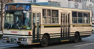 伊豆箱根バスの旧塗装復元車 +α_e0030537_2356588.jpg