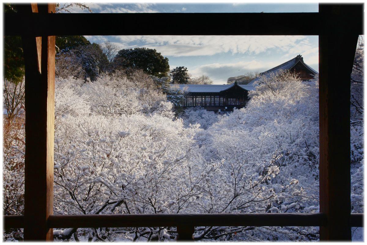 雪景色 <東福寺>_f0021869_22384514.jpg