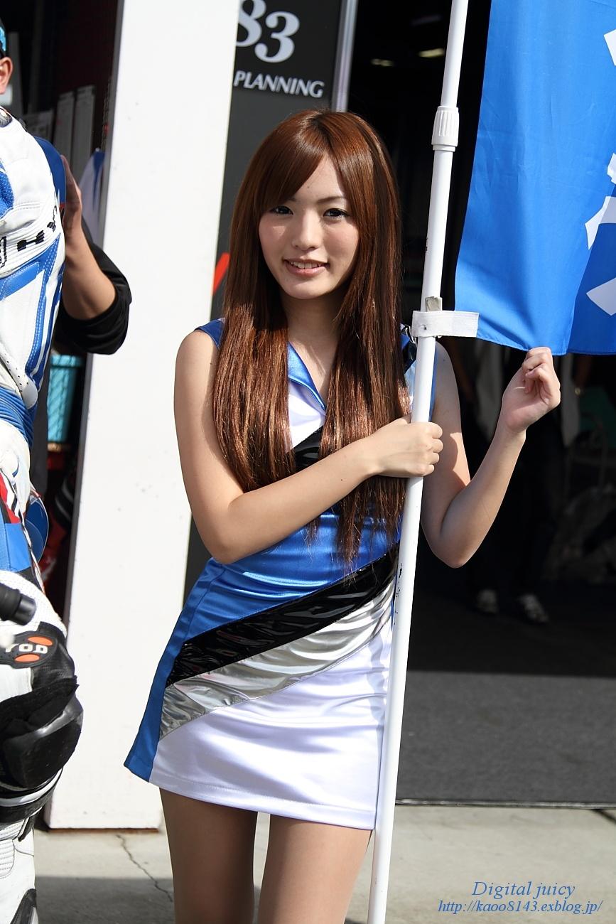 大塚みゆ さん(ATU.AKI team しんたろう with KRT レースクイーン)_c0216181_2223107.jpg