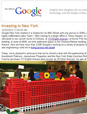 Googleがニューヨークでオフィスビルを購入_b0007805_1132052.jpg