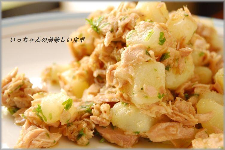コクうま☆レンコンと白菜の明太マヨ和え_d0104926_3101526.jpg