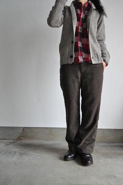 OMNIGOD/オムニゴッド 二重織りチェックワークシャツ