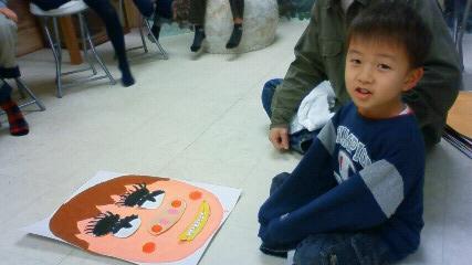小学生1年生新年会_b0187423_16531210.jpg