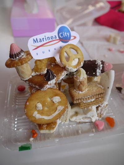 お菓子の家をつくろう♪ マリノアシティ〜レポート〜_f0063241_1953649.jpg
