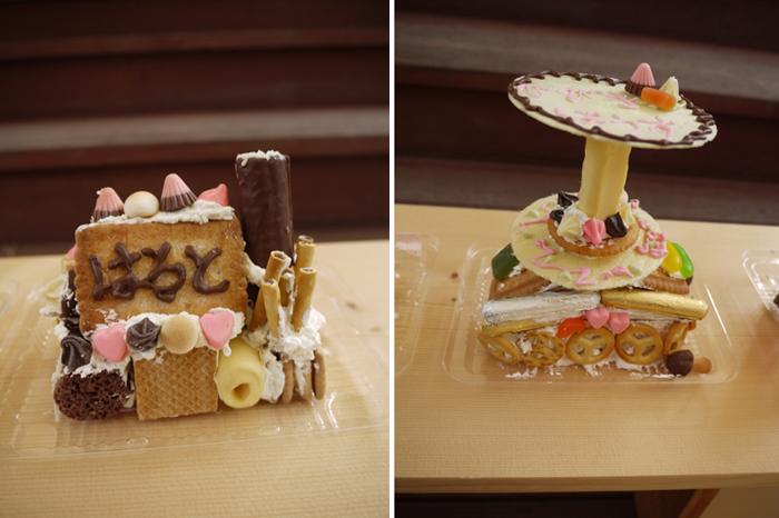 お菓子の家をつくろう♪ マリノアシティ〜レポート〜_f0063241_2024319.jpg