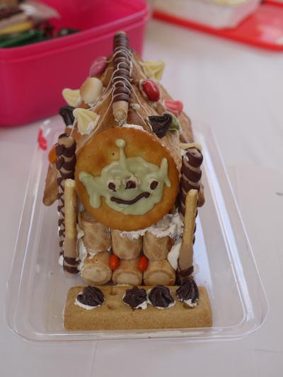 お菓子の家をつくろう♪ マリノアシティ〜レポート〜_f0063241_2043087.jpg