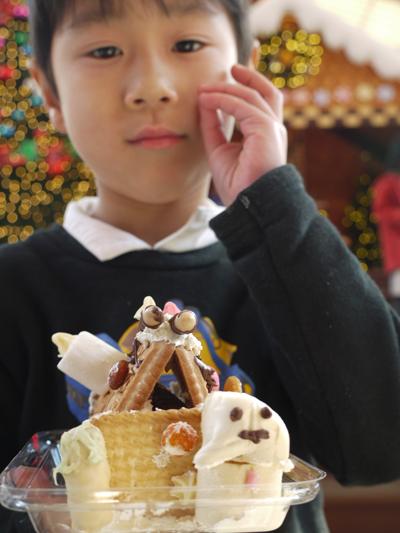 お菓子の家をつくろう♪ マリノアシティ〜レポート〜_f0063241_2044894.jpg