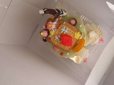 お菓子の家をつくろう♪ マリノアシティ〜レポート〜_f0063241_2052857.jpg