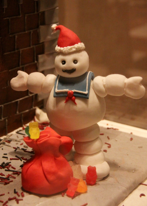 ニューヨーク映画のワンシーンをお菓子で再現! Gingerbread Extravaganza_b0007805_1681387.jpg