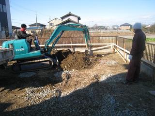 「和田の家」掘り方_b0179213_14494815.jpg