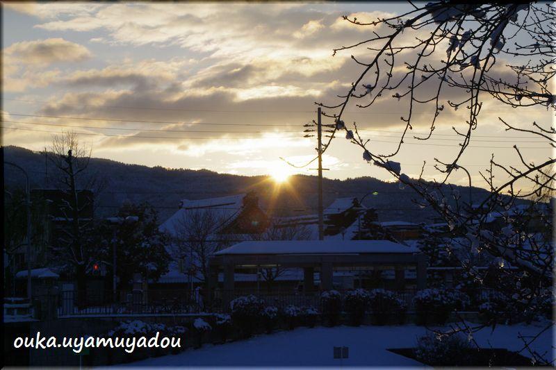 京都出町柳から望む初日の出-2_a0157263_23302570.jpg