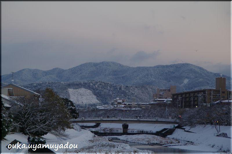 京都出町柳から望む初日の出-2_a0157263_23321326.jpg