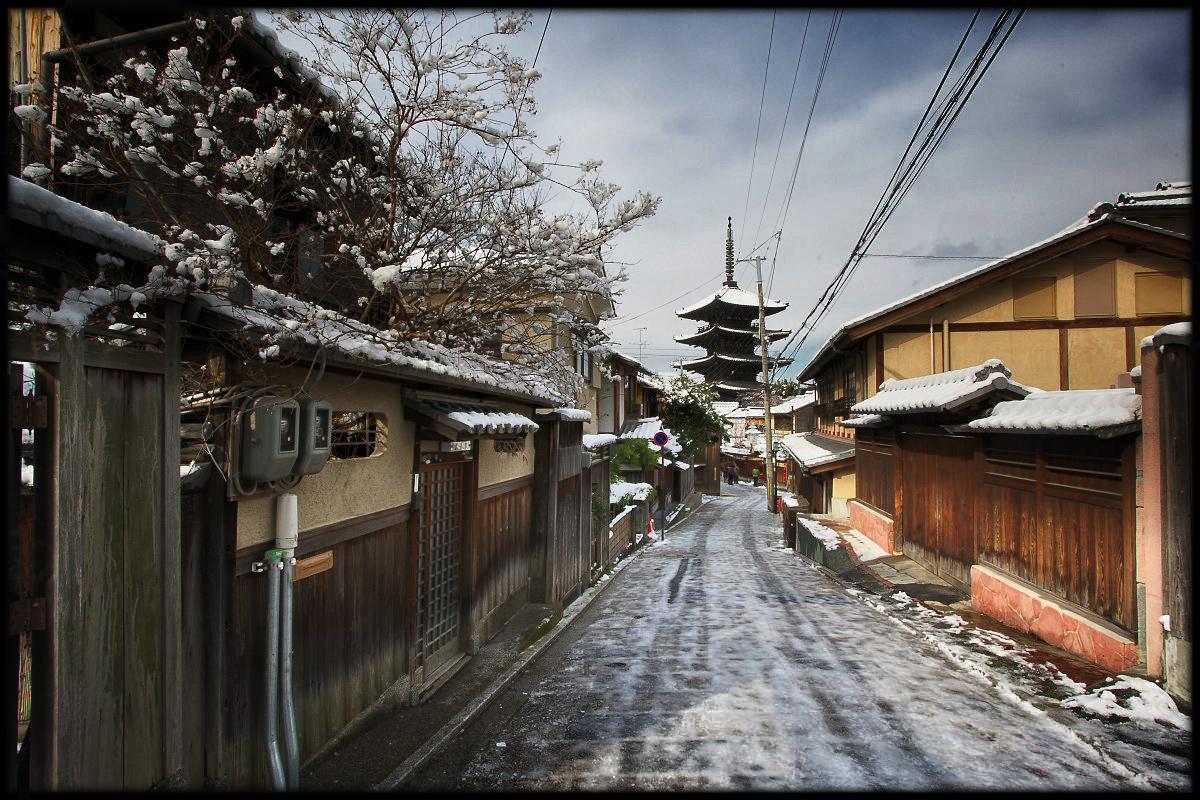 雪の京都画像