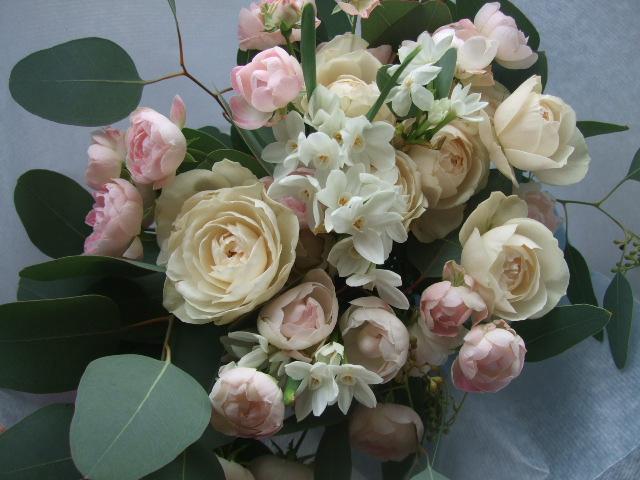 オークリーフ(お正月の花束)_f0049672_8423921.jpg