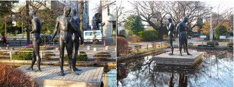 平和の群像と自由の群像_d0183174_10101662.jpg