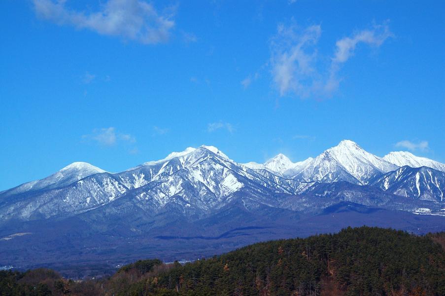 晴天の八ヶ岳 花と山のphotowalker Jimmy