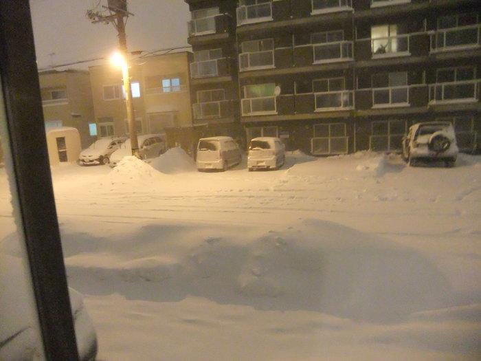 吹雪3日間 の 後の札幌!!_c0226202_1744099.jpg