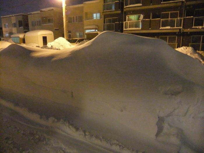 吹雪3日間 の 後の札幌!!_c0226202_1744416.jpg
