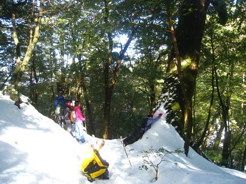 太鼓岩の雪、 美しい。_b0160957_17515389.jpg