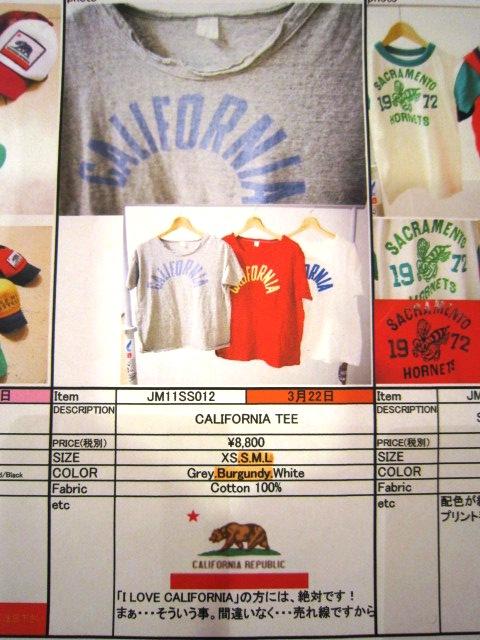"""2011 SPRING & SUMMER \""""JACKSON MATISSE(ジャクソンマティス)\"""" LINE-UP_f0191324_244230.jpg"""