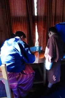 ブータンのろうあ学校を訪ねる_b0053082_1183121.jpg