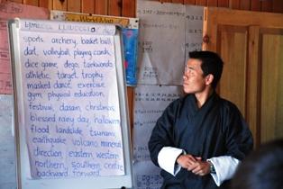 ブータンのろうあ学校を訪ねる_b0053082_1303410.jpg