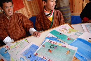 ブータンのろうあ学校を訪ねる_b0053082_1401816.jpg