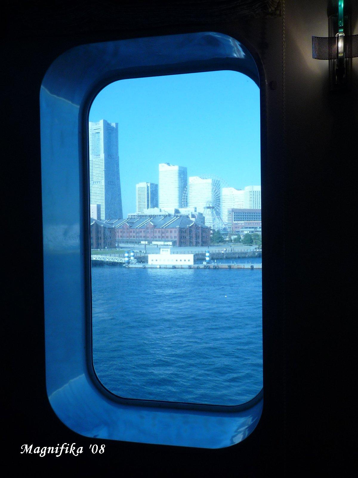 ぱしふぃっく びいなす Pacific Venus cruise report-10 Back to Yokohama_e0140365_19484286.jpg