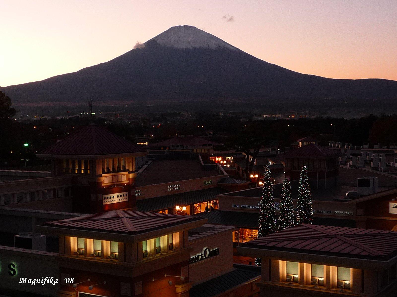 今日の富士山 Today\'s Mt. Fuji Nov. 20, 2008_e0140365_20281612.jpg