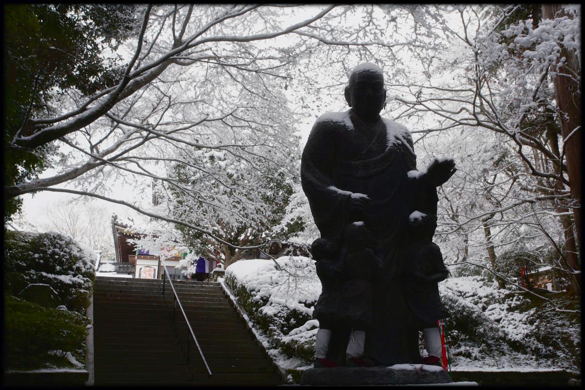雪景色 <今熊野観音寺>_f0021869_2340912.jpg