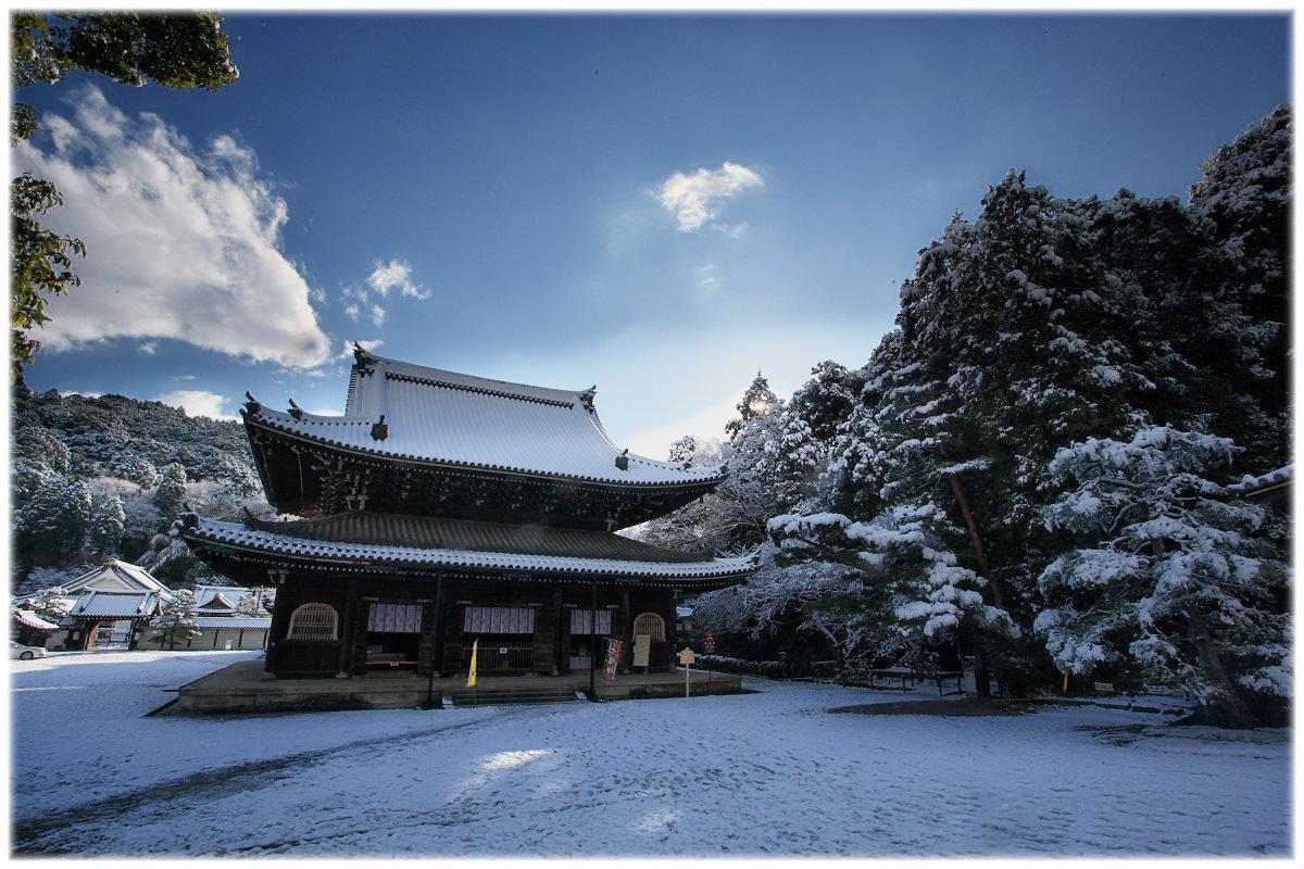 雪景色 <泉涌 寺>_f0021869_7104920.jpg