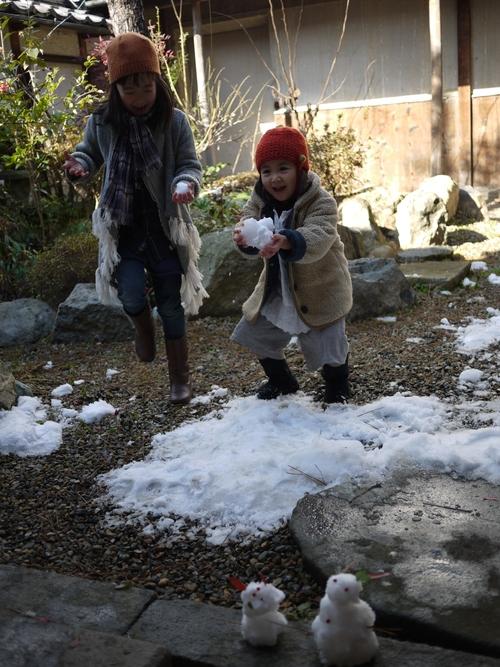雪の庭_f0226293_9502491.jpg