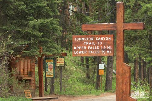 075 Johnston Canyon ~肝心なところはやっぱり雨~_c0211532_18232040.jpg