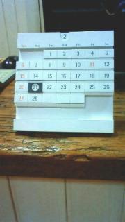 卓上カレンダー2号_c0149633_2020622.jpg