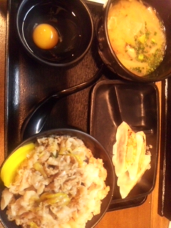 スタ丼を食べましたぁ_e0114246_19153423.jpg