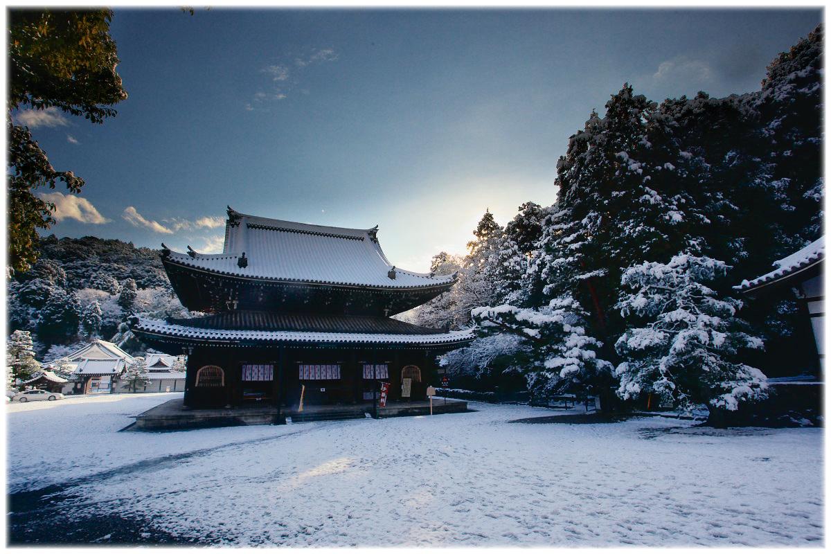 雪景色 <泉涌 寺>_f0021869_23421170.jpg