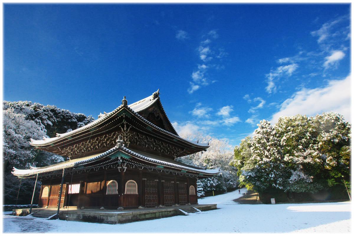 雪景色 <泉涌 寺>_f0021869_23434653.jpg