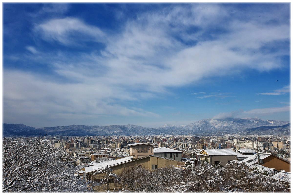 雪景色 <清水寺から>_f0021869_23453691.jpg