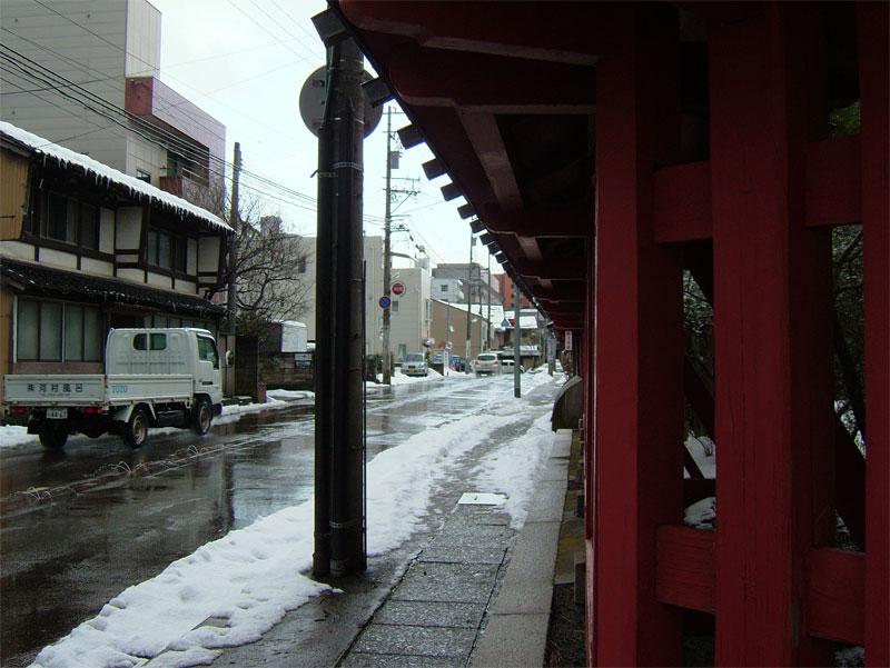 雪見ジョギング♪_c0110051_10752100.jpg