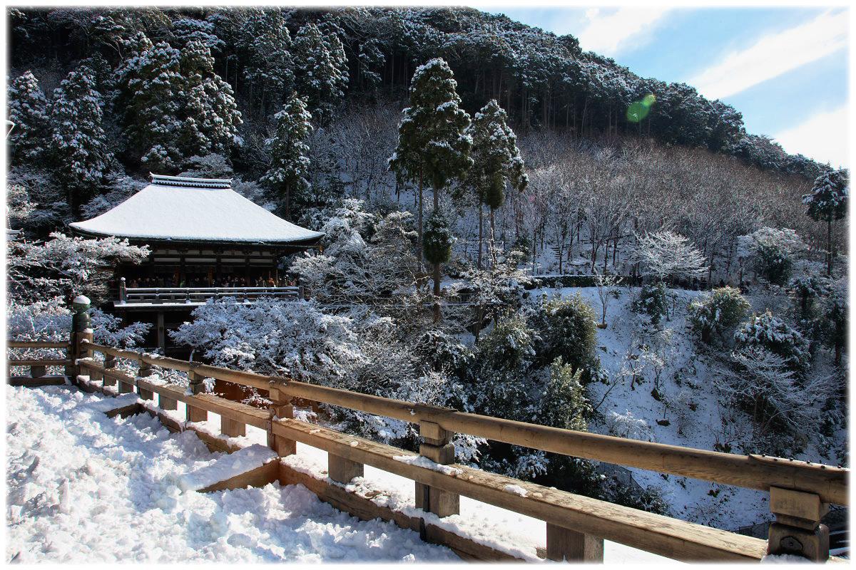 雪景色 <清水寺>_f0021869_22364914.jpg