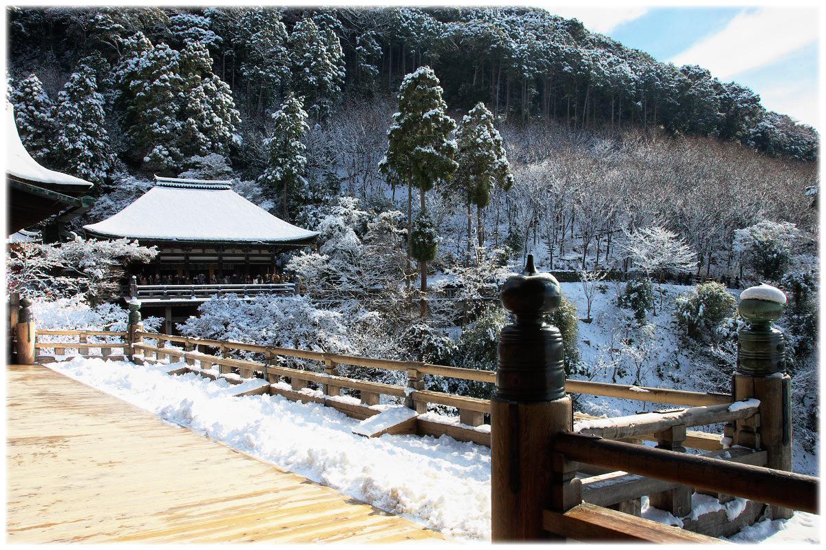 雪景色 <清水寺>_f0021869_22484076.jpg