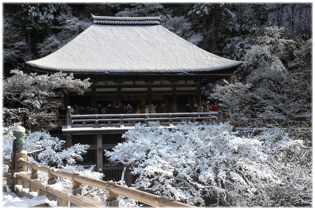 雪景色 <清水寺>_f0021869_22495959.jpg
