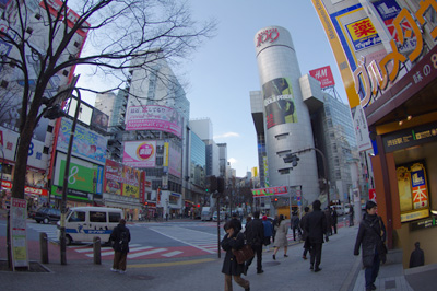 1月13日(木)今日の渋谷109前交差点_b0056983_111346.jpg