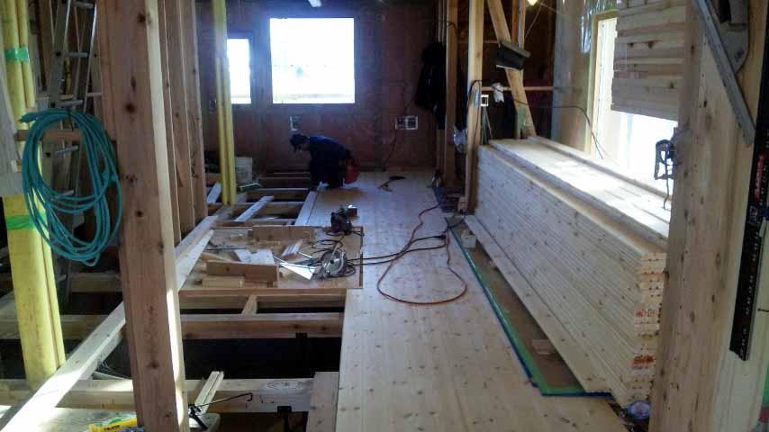 S邸「大沢新道の家」  工事中です。_f0150893_17372166.jpg