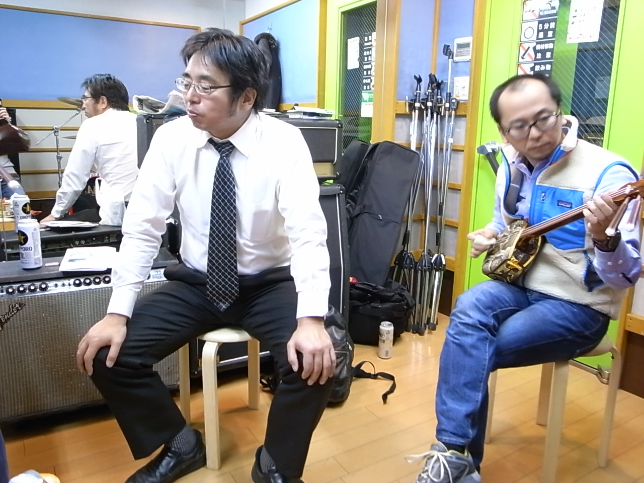 沖縄バンド・テーゲーズ初練習_d0122797_22523642.jpg