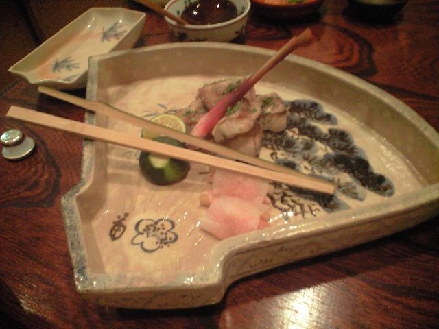 梅市 1-鯛かぶらと器と日本料理!―_a0194908_1952597.jpg