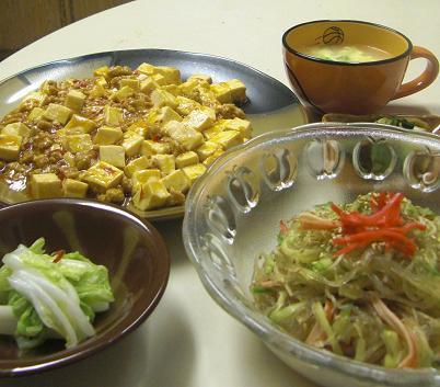 麻婆豆腐だよ~~~~!_c0119140_14301511.jpg