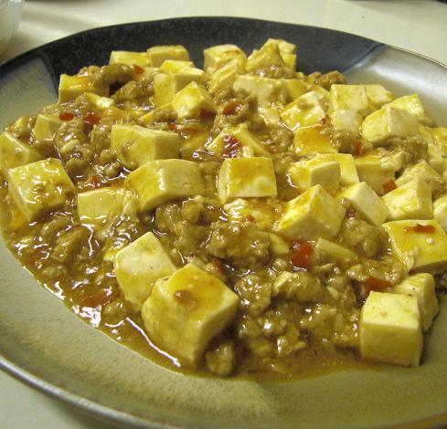 麻婆豆腐だよ~~~~!_c0119140_14355494.jpg