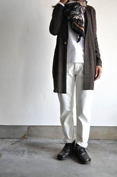 ARBRE/アルブル 66 White Denim/ホワイトデニム