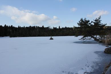 雪の道,北国ではありません_e0175370_1527429.jpg